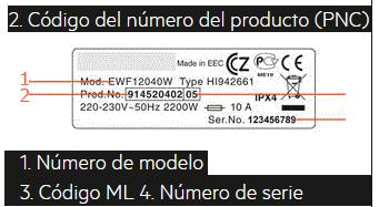 Que es el PNC o número de producto