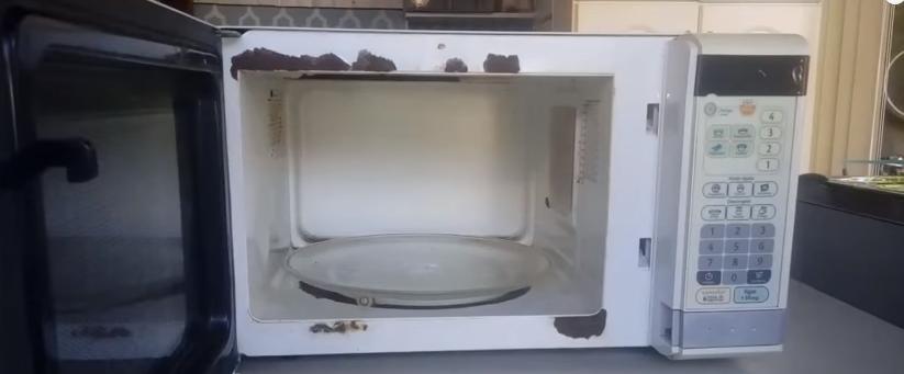 Como pintar un microondas por dentro