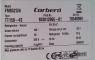 Electrodoméstico Corbero (Etiqueta modelo)