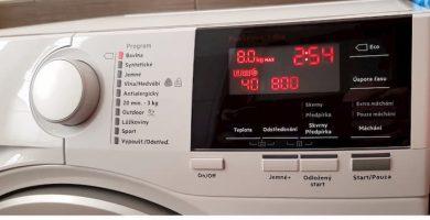 Codigo de error E40 lavadora aeg